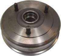 Brake drum rear (per piece). Suitable for Renault R14. Diameter: 180mm. Break area: 57mm. Made in Europe. - 84229 - Der Franzose