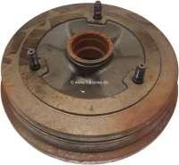 Brake drum rear (per piece). Suitable for Renault R20 + R18 BREAK. Drum diameter: 228mm. Or. No. 7701460216 - 84230 - Der Franzose