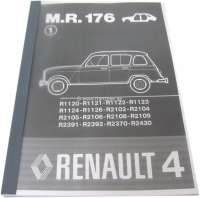 Repair manual body. Suitable for Renault R4. Reprint of the original Renault manual (M.R.176). 185 sides. Language: German. - 88151 - Der Franzose