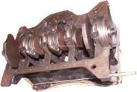 Engine block, suitable for Renault R8, R10, Estafette. Engine code 688 01 (1108cc). R10, TYPE 119 of 1966 - 1972. R8 of 1962 - 1972. Estafette type 213, of 1962 - 1981. Inclusive crankshaft, piston, liner. 5 hole flywheel! Original Ostergaard engine block! -1 - 81283 - Der Franzose