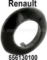Rosette from rubber synthetic, frame of the trunk lock, suitable for Renault R16, R5, R6, R18. 1 art drinking hook. Inside diameter: about 20mm. Outside diameter: about 32mm. Or.Nr. 556130100 - 87611 - Der Franzose