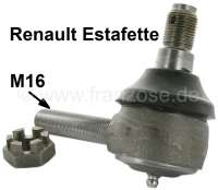 Estafette, tie rod end inside. Suitable for Renault Estafette, of year of construction 02/1962 to 12/1981. Male thread M16 x 1,5. Or. No. 7701013276. - 83247 - Der Franzose
