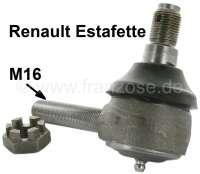 Estafette, tie rod end inside. Suitable for Renault Estafette, of year of construction 02/1962 to 12/1981. Male thread M16 x 1,5. Or. No. 7701013276. | 83247 | Der Franzose - www.franzose.de