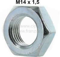 R4, Mutter M14 x 1.5 (narrowly), for the tie rod. Suitable for Renault R4. - 83366 - Der Franzose