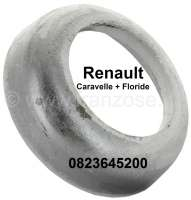 Floride/Caravelle, plate (from aluminum) for the rear axle spring. Per piece. Suitable for Renault Caravelle + Floride. Or. No. 0823645200 - 83381 - Der Franzose
