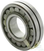 Bearing for the gearbox main shaft. Suitable for Renault R4, R6, R12, R16. Outside diameter: 72mm. Inside diameter: 32,0mm. Overall height: 19,0mm. Or. No. 7703090201 -1 - 80079 - Der Franzose