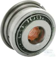 Bearing rear, for the gearbox main shaft. Suitable for Renault R16, R12, R15, R17, R20, Fuego, R5. Outside diameter: 67/75mm. Inside diameter: 25mm. Overall height: 40,5mm Or. No. 770309181 -1 - 80078 - Der Franzose