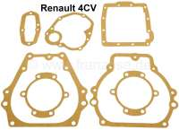 Gearbox sealing set, suitable for Renault 4CV. - 80010 - Der Franzose