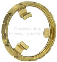 Synchronizer for the 1 gear. Suitable for Renault R4, R5, R6. Outside diameter about 79,9mm. Height about 16mm. Or. No. 7700520669 -1 - 81097 - Der Franzose