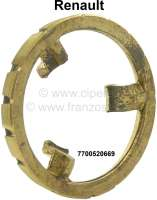 Synchronizer for the 1 gear. Suitable for Renault R4, R5, R6. Outside diameter about 79,9mm. Height about 16mm. Or. No. 7700520669 - 81097 - Der Franzose