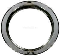 4CV, headlight chrome ring CIBIE, for Renault 4CV. Per piece. -2 - 75297 - Der Franzose