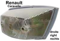 Caravelle, indicator, angularly, in front on the right (completely with support). Suitable for Renault Caravelle. - 85402 - Der Franzose