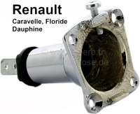 Caravelle/Floride/Dauphine, support (made of metal) for the park light - position light. Suitable for Renault Caravelle + Floride, Dauphine. Per piece. - 85411 - Der Franzose