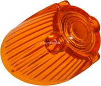 R4/Caravelle, turn signal cap orange, approximately, front on the left. Suitable for Renault R4 + Renault Caravelle. -1 - 84004 - Der Franzose
