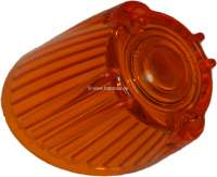 R4/Caravelle, turn signal cap orange, approximately, front on the right. Suitable for Renault R4 + Renault Caravelle. -1 - 84005 - Der Franzose