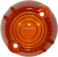 R4/Caravelle, turn signal cap orange, approximately, front on the right. Suitable for Renault R4 + Renault Caravelle. - 84005 - Der Franzose