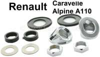 Caravelle/A110, wiper system mounting set. Suitable for Renault Caravelle + Renault Alpine A110. - 85387 - Der Franzose