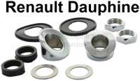 Dauphine, wiper system mounting set (second version). Suitable for Renault Dauphine. - 85384 - Der Franzose