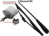 R5, rear windshield wiper supplementary kit, for Renault R5, first models. Original from DOGA. - 85221 - Der Franzose