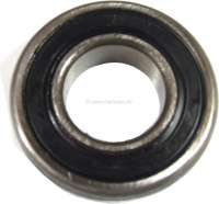 Wheel bearing front, with external groove + sealing ring (O-ring). Suitable for Renault R4. Dimension: 30 x 62 x 16mm. Made in Spain -1 - 83006 - Der Franzose