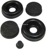 Estafette, wheel brake cylinder sealing set, front. Piston diameter: 28,57mm (1