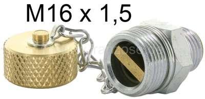 Citroen-2CV soupape de vidange, pas de vis M16 x 150, remplace la vis de vidange traditionnelle. La so