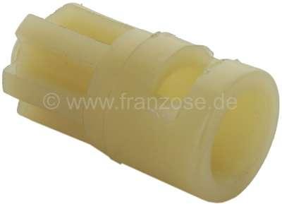 Citroen-2CV guide câble de compteur dans la boîte de vitesse 2CV6 (tube plastique dans lequel le câble