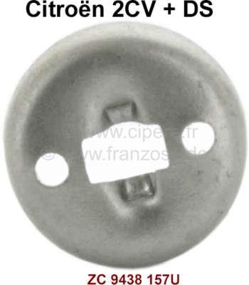 Citroen-2CV calotte pour came de réglage dans tambour (correspond avec 13011 + 13012)