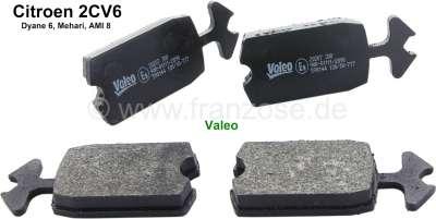 Citroen-2CV plaquettes de frein avant, 2CV équipée de freins à disques, produit de marque pour votre s