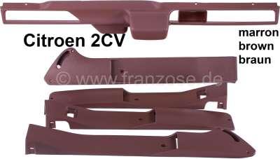 bandeau garniture sur tableau de bord et bandeaux de portes citro n 2cv6 ensemble 5 pi ces en. Black Bedroom Furniture Sets. Home Design Ideas