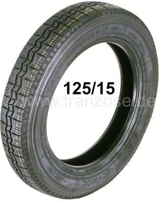 pneus 125 15 citro n 2cv l 39 empreinte ressemble celle du pneu michelin produits bon march. Black Bedroom Furniture Sets. Home Design Ideas