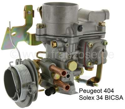 carburateur solex 504 peugeot