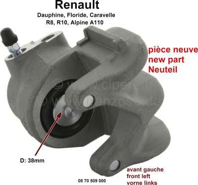 trier de frein avant renault r8 r10 a110 floride caravelle dauphine gauche freins. Black Bedroom Furniture Sets. Home Design Ideas