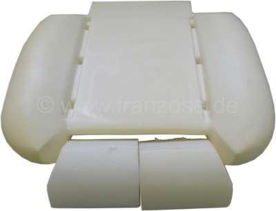 mousse pour assise de si ge renault r17 alpine a310 en 3 pi ces pour 1 si ge avant. Black Bedroom Furniture Sets. Home Design Ideas