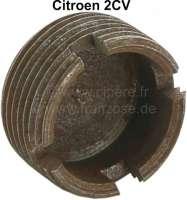 écrou de barre de direction comme d'origine, 2CV,  refabrication, rouille superficielle   12195   Der Franzose - www.franzose.de