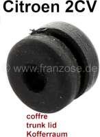 caoutchouc de béquille de coffre, 2CV, fixation de béquille | 16309 | Der Franzose - www.franzose.de