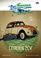 Katalog 2CV, 2017 Englisch. Complete with pictures and price. 398 pages | 91053 | Der Franzose - www.franzose.de