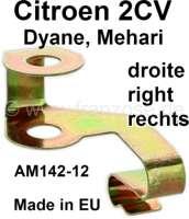 agrafe de câble de commande de volet d'échangeur, grande taille, bichromaté, bonne qualité   14520   Der Franzose - www.franzose.de
