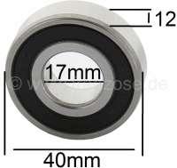 roulement+embrayage+centrifuge+2CV4%2C+2CV6%2C+n%B0+d%27origine+ZC9620103%2C+17x40x12