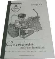 livre en allemand: Technische Unterlagen 2CV 9+12 PS   18201   Der Franzose - www.franzose.de