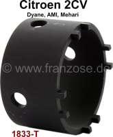 clé pour roulements de bras de suspension 1833-T, pour déviser l'écrou à créneaux, 2CV | 20138 | Der Franzose - www.franzose.de