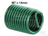 filet rapporté Helicoil M7, longueur 14,0mm, pour réparer un pas de vis | 21135 | Der Franzose - www.franzose.de