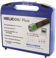 kit de réparation Helicoil - pour réparer un pas de vis abîmé, pour les pas de vis M7. Outils : mèche + taraud + outil de pose. filets: 10x Helicoil M7 de chaque longueur: 7,0mm, 10,5mm, 14,0mm - Produit de marque Helicoil | 21136 | Der Franzose - www.franzose.de