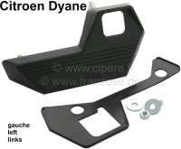 poignée de porte, Citroën Dyane, poignée extérieure avant gauche, couleur noir, livrée avec son joint,n° d'origine AY861-76   16431   Der Franzose - www.franzose.de