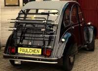 porte Pedelec de coffre, Citroën 2CV, modèle développé spécialement pour la deuche, fabricant allemand, marque