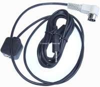 adaptateur pour autoradios classiques, pour utilisation d'un lecteur MP3, I-Pod - de jack 3,5 mm à DIN 5 broches | 18505 | Der Franzose - www.franzose.de