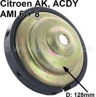 coupelle garnie dans le pot de suspension, 2CV, refabrication, grand diamètre   12107   Der Franzose - www.franzose.de