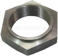 écrou de moyeu arrière, 44mm, 2CV, refabrication, qualité médiocre   12197   Der Franzose - www.franzose.de