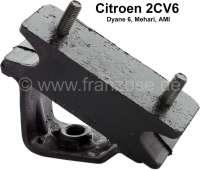 support moteur, Citroën 2CV6, Dyane, Méhari, refabrication, l'unité, ne convient pas sur 2CV4 435cm³ de 1970 à 1990.   10049   Der Franzose - www.franzose.de