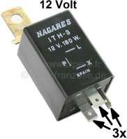 Equipement warning 12 Volts avec centrale clignotante 12 Volts